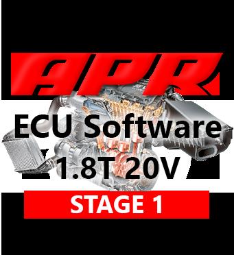 APR Stage 1 215hp 335Nm chiptuning AUDI A3 TT 1,8T 20V