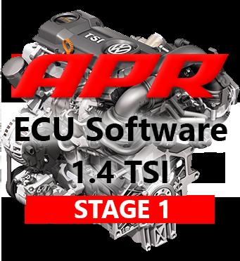 APR Stage 1 úprava řídící jednotky chiptuning Škoda Octavia 2 SEAT Leon 1P AUDI A3 1,4 TSI