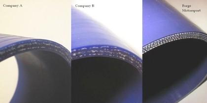 Sací hadice k turbu 1.8T 150hp Octavia / Golf / TT / A3 / Leon FM180IND Forge Motorsport - Modrá