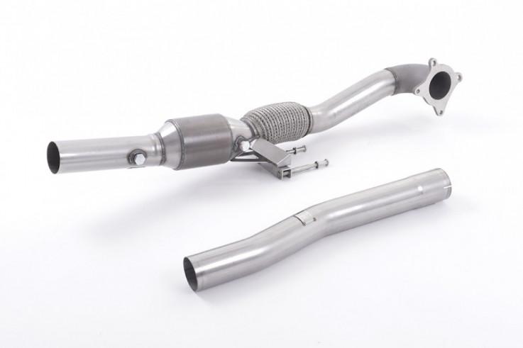 Turboback výfuk  VW Golf V GTI 2.0 TFSI Milltek Sport - s katalyzátorem / bez rezonátoru / leštěné koncovky