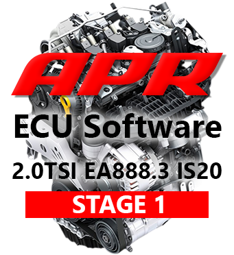 APR Stage 1 316hp 516Nm chiptuning AUDI A3 8V TT 8S 2,0 TSI