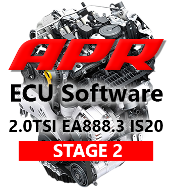 APR Stage 2 336hp 523Nm chiptuning AUDI A3 8V TT 8S 2,0 TSI - S APR Prvním dílem výfuku