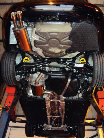 Catback výfuk Škoda Octavia II RS 2,0 TFSI TSI Milltek Sport - s rezonátorem
