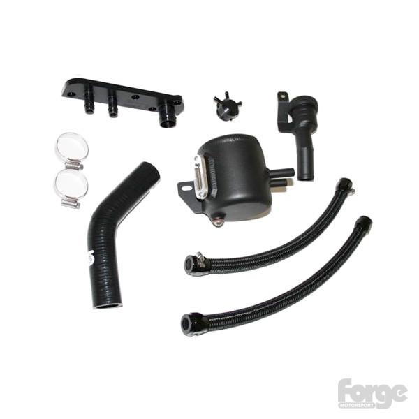 Forge Motorsport Oil Catch tank Sada odlučovače oleje pro motory 2.0 TFSI Audi A3 VW Golf Seat Leon Škoda Octavia