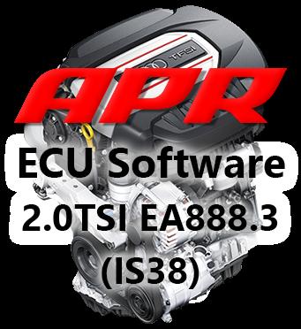 APR Stage 3 IS38 úprava řídící jednotky chiptuning Škoda Octavia 3 RS RS245 2,0 TSI 180kW s filtrem pevných částic GPF