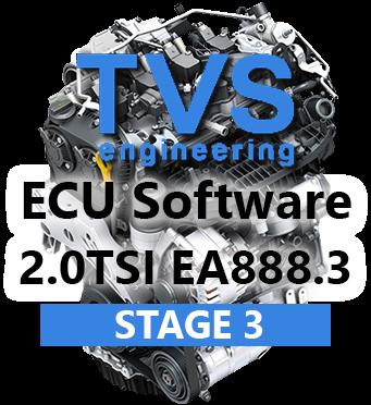 TVS Engineering Stage 3 úprava řídící jednotky pro TTE475 TTE535 turbodmychadlo