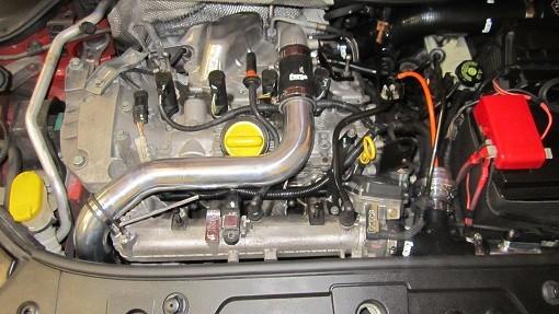 Vedení k intercooleru Renault Megane RS 225 230 F1 R26 FMHPRM Forge Motorsport - Modrá