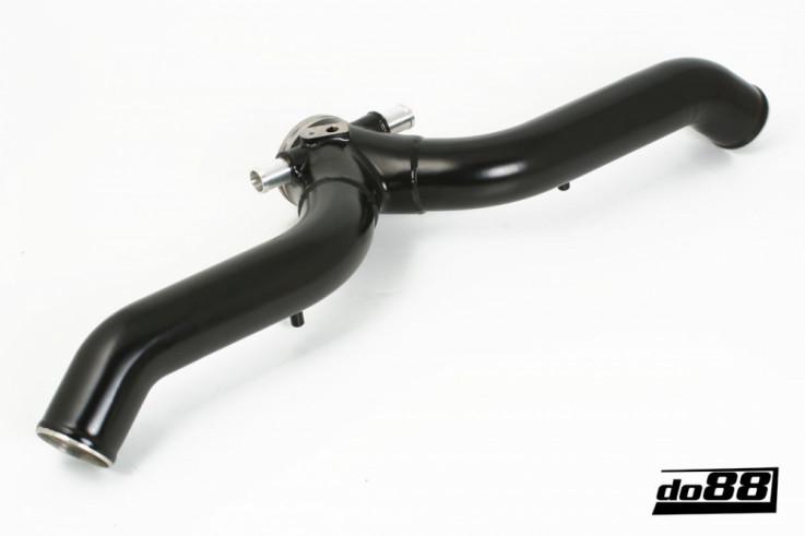 Do88 Set tlakového vedení vzduchu ke škrtící klapce Porsche 911 997.2 Turbo & GT2 3,8T - Černé
