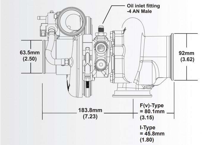 Turbodmychadlo BorgWarner EFR 6758 AL V-Band SingleScroll 0.85 bez WG