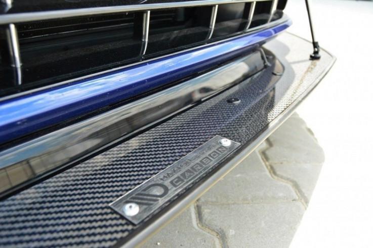 Maxton Design Spoiler předního nárazníku Racing VW Golf Mk7 R Facelift V.1