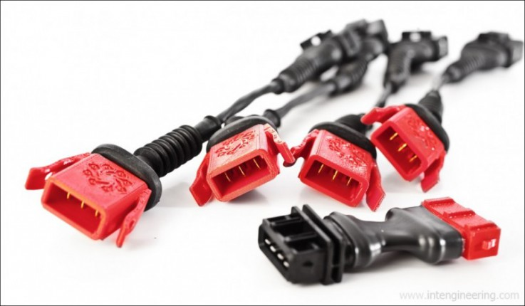 Elektrický svazek pro dosazení TFSI zapalovacích modulů na AGU AEB 1,8T IE Integrated Engineering