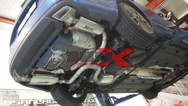 Bull-X Cat Back výfuk Škoda Octavia III RS 2,0 TSI HG Motorsport