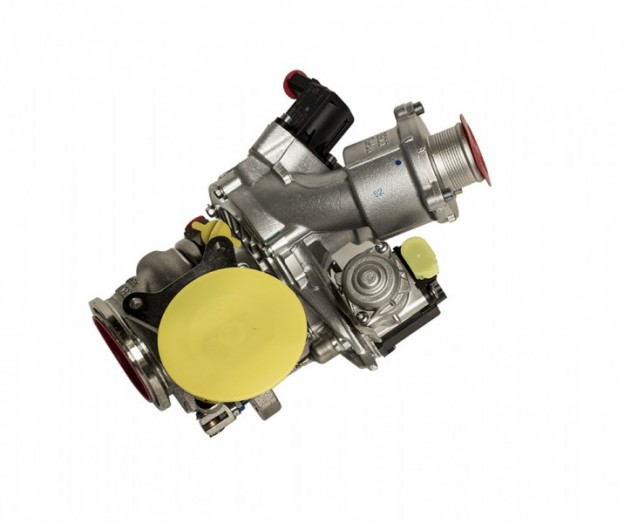 Turbodmychadlo IS38 pro 400hp Škoda Octavia, VW Golf 7 GTI