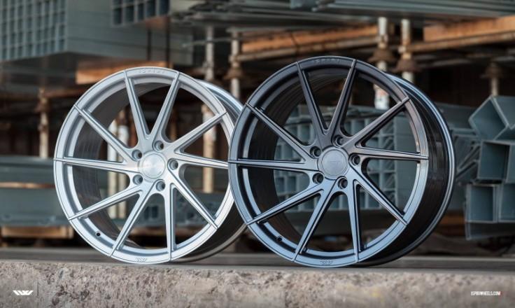Ispiri Wheels FFR1D 20x10.5 ET30 5x112 alu kola - carbon graphite (pravé)