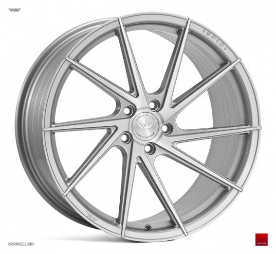 Ispiri Wheels FFR1D 19x8.5 ET32 5x112 alu kola - silver brushed (pravé)