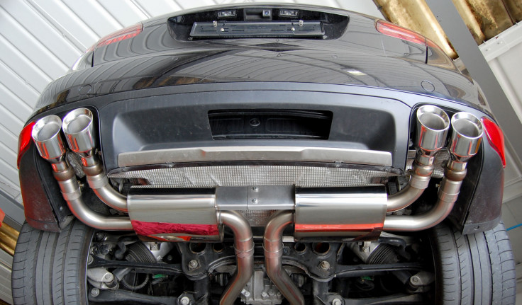Catback výfuk Porsche Cayenne Turbo 4.8 V8 (958) Milltek Sport - bez rezonátoru / OEM koncovky