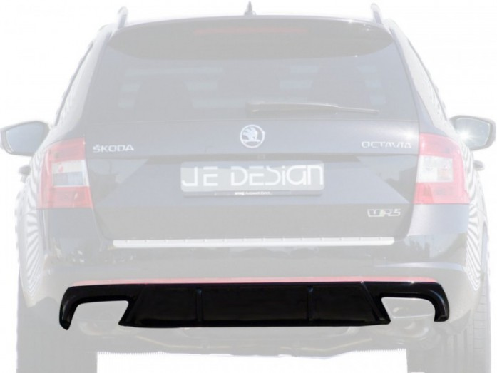 Zadní difuzor Škoda Octavia RS Combi JE DESIGN