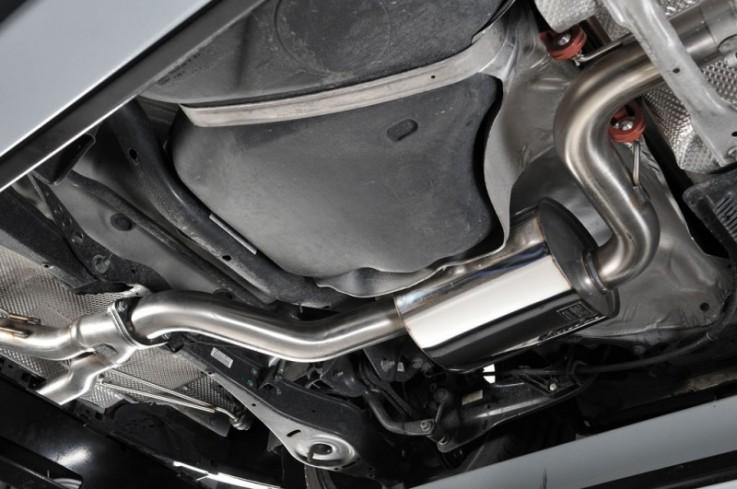 Catback výfuk SEAT Leon Cupra R 2,0 TFSI 195kW K04 Milltek Sport - Race verze / leštěné koncovky