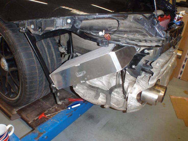 Intercooler kit pro Porsche 911 Turbo 996 FMINT996 Forge Motorsport - Černé hadice