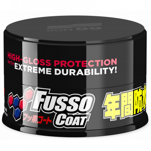 Soft99 New Fusso Coat 12 Months Wax Dark 200 g syntentický vosk