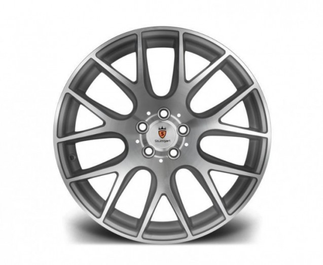 Stuttgart Wheels ST3 18x8,5 ET42 5x112 alu kola - stříbrné