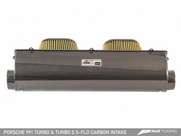 AWE Tuning Karbonové sportovní sání pro Porsche 911 991.1 / 991.2 Turbo & Turbo S 3.8T
