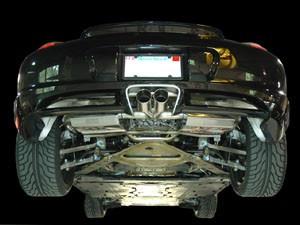 AWE Tuning Sportovní výfukový systém pro Porsche Cayman/Cayman S & Boxster/Boxster S - pro sériové koncovky