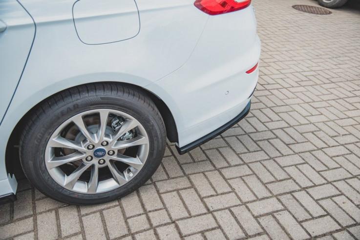 Maxton Design Spoiler zadního nárazníku Ford Mondeo Mk5 Combi Facelift - texturovaný plast