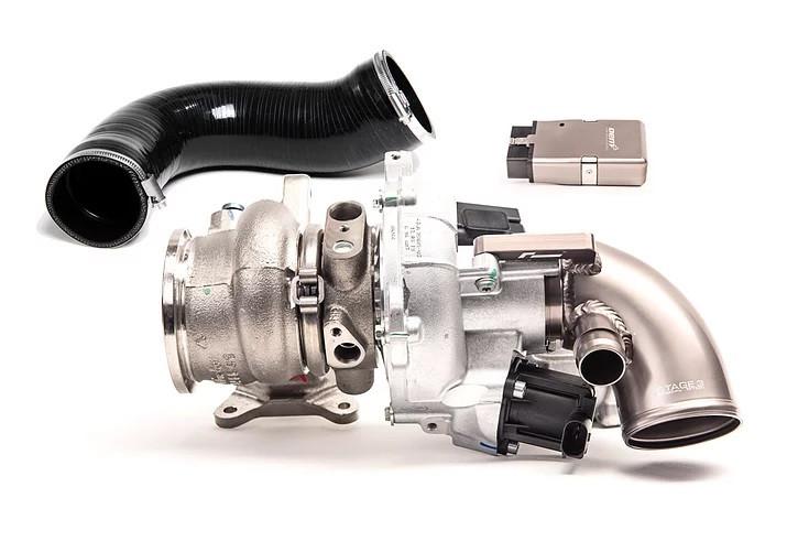 Racingline OEM+ Stage 3 hybridní turbodmychadlo na 460-500hp pro 2,0 TSI