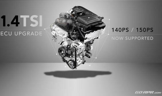 APR Stage 1 úprava řídící jednotky chiptuning Škoda Octavia 3 SEAT Leon AUDI A3 1,4 TSI ACT