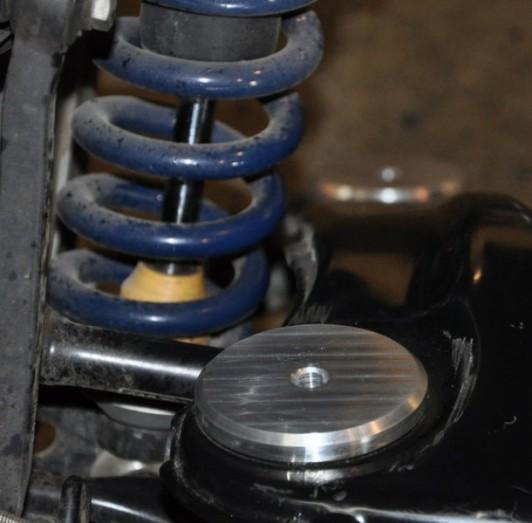 Tuhé uložení zadní nápravy AUDI RS4 S4 B5 2,7T biturbo 034 Motorsport